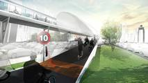 BMW E3 Elevated Road Concept