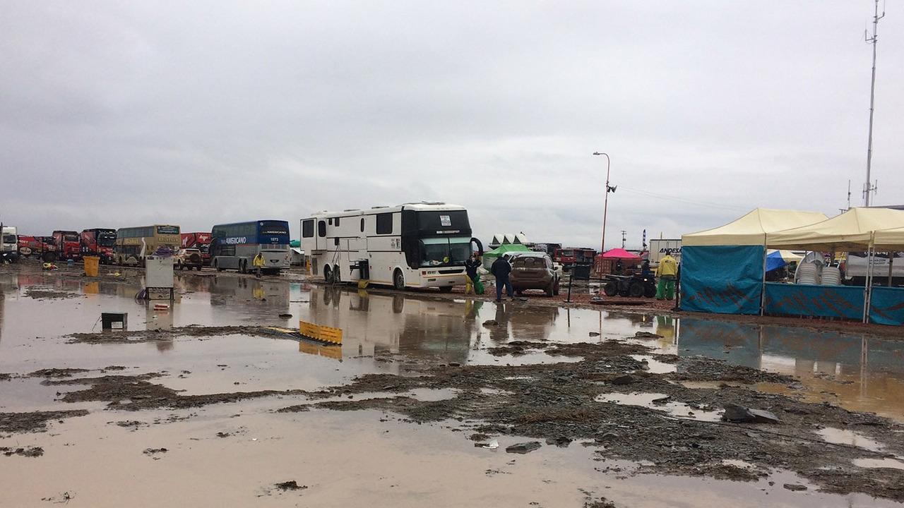 Etape annulée Dakar