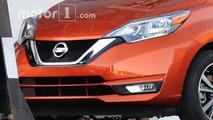 Makyajlı 2017 Nissan Versa Note casus fotoğrafları
