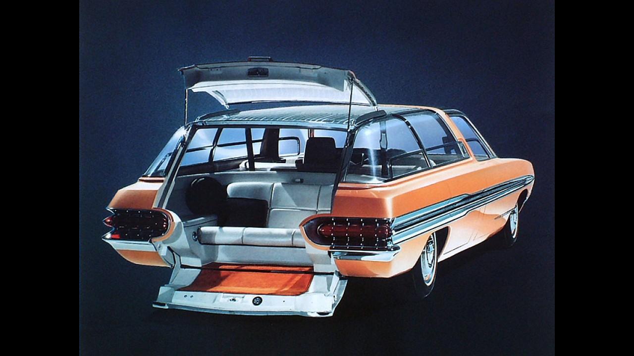 Este é o primeiro sistema de navegação apresentado pela Ford em 1964