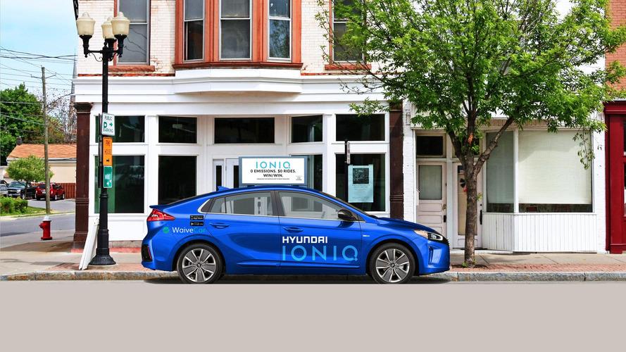 Hyundai'nin yeni otomobil paylaşımı anlaşması ile Ioniq EV otomobilleri ödünç alınabilecek