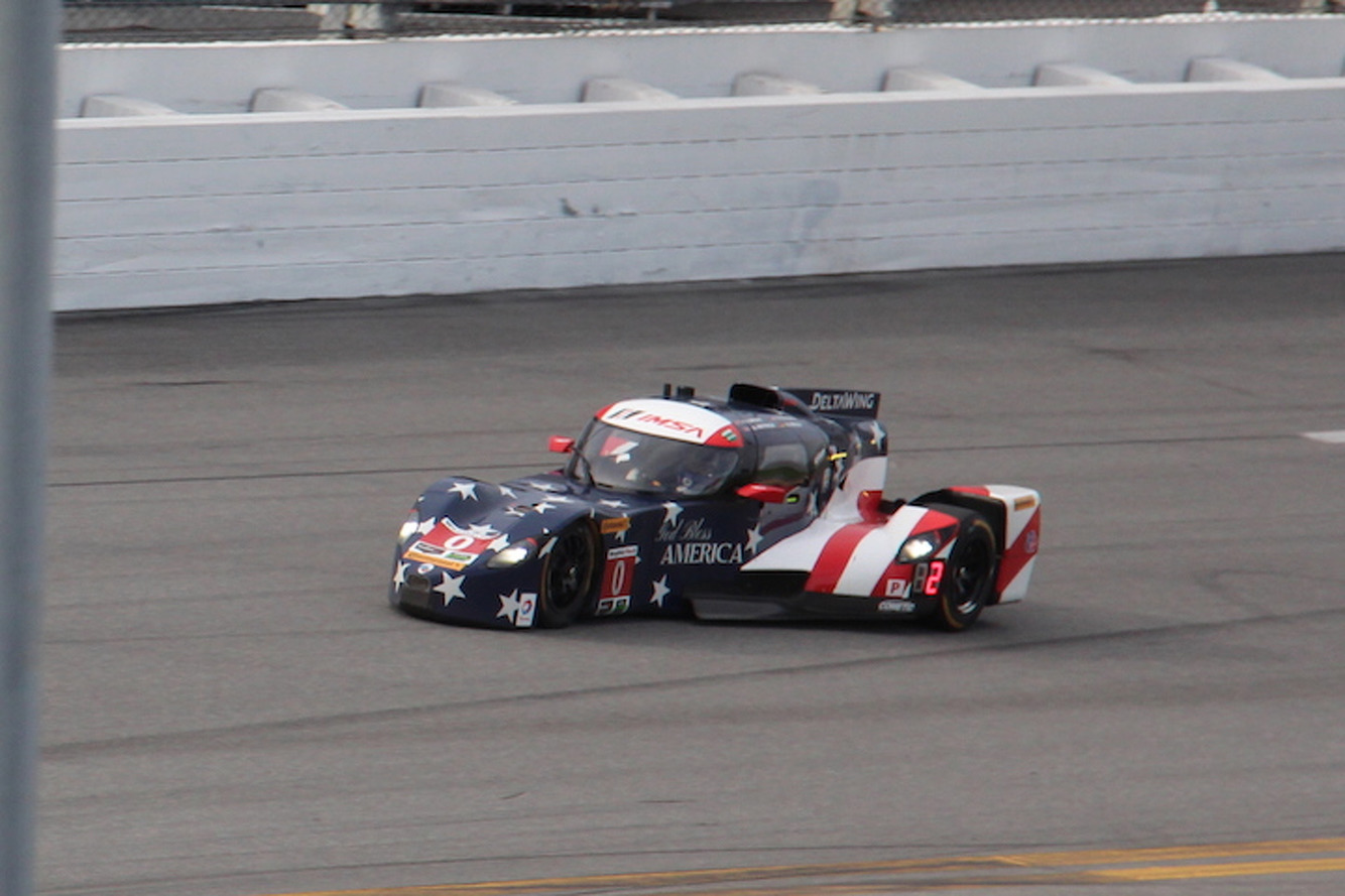Poor Mazda and DeltaWing Couldn't Catch a Break at Rolex Daytona