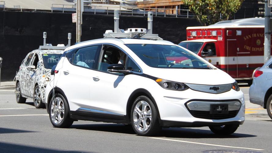 Autonomous Chevy Bolt prototypes spied in San Francisco