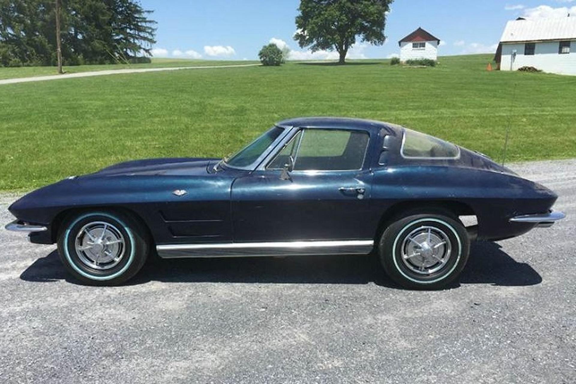 1963 chevrolet corvette split window barn find should for 1963 split window corvette for sale