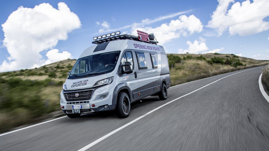 Fiat Ducato 4x4 Expedition unveiled