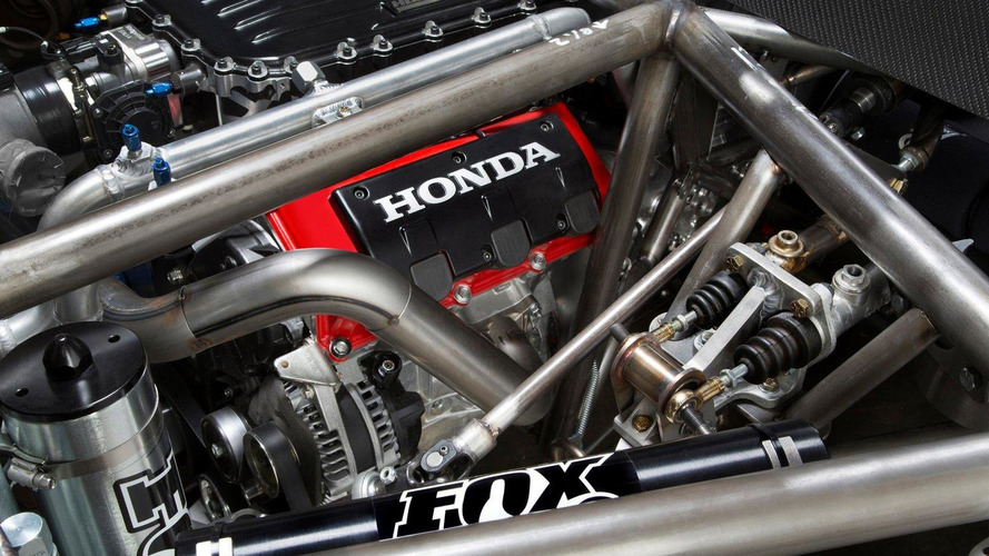 Honda teases their new off-road racer for the Baja 1000