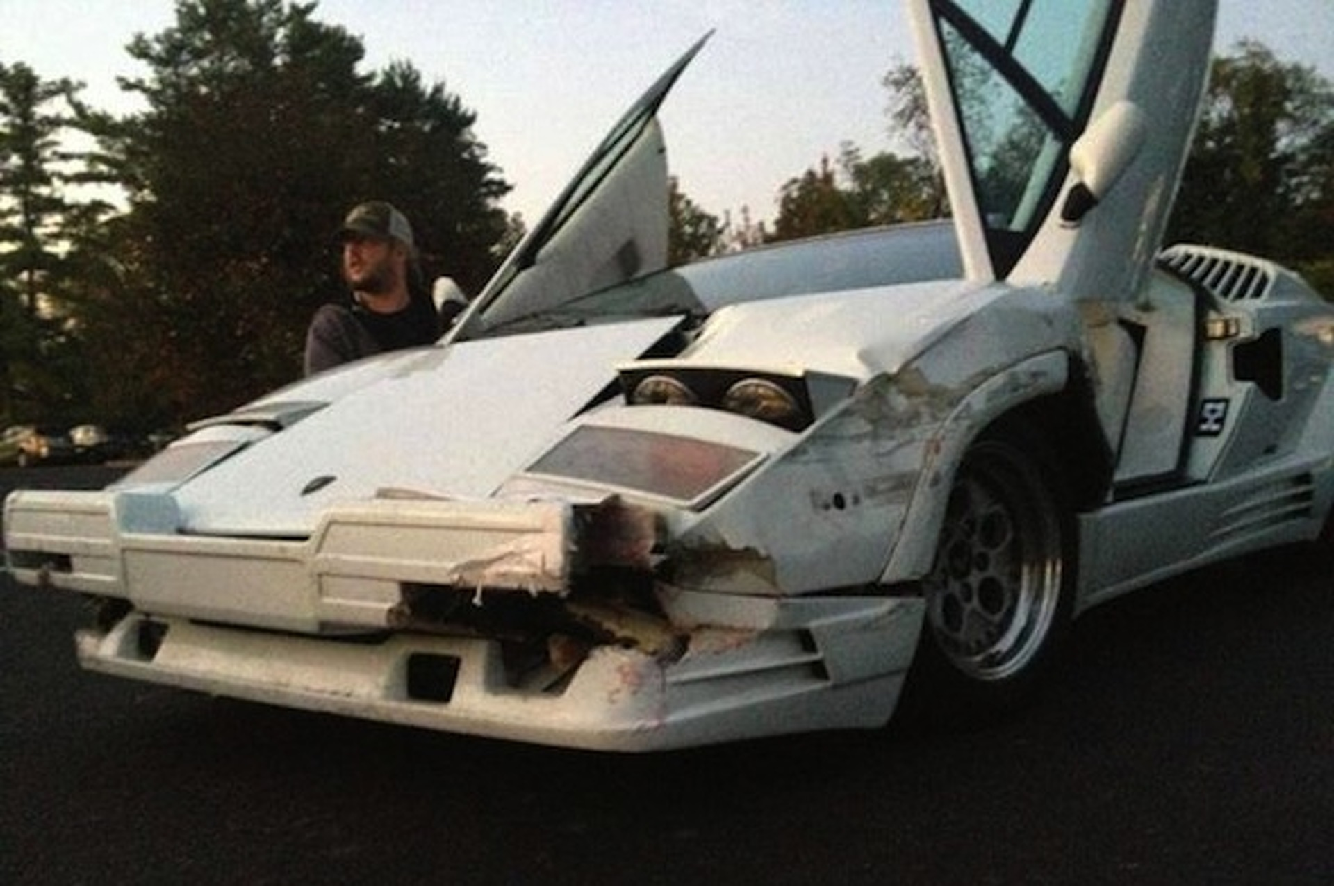 the-wolf-of-wall-street-directors-wrecked-a-real-lamborghini-countach-for-film Remarkable Lamborghini Countach In Real Racing 3 Cars Trend