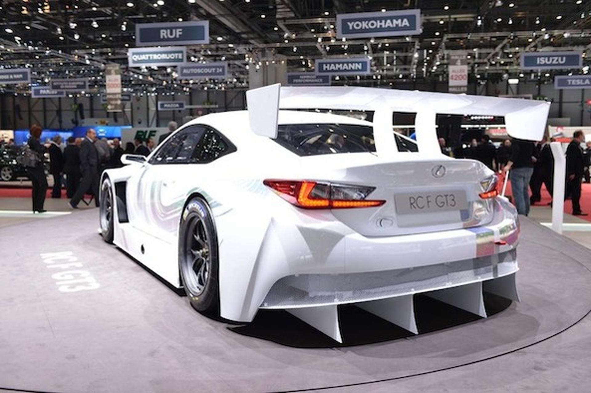 Geneva: Track-Ready RC F GT3 Proves Lexus is Vanilla No More