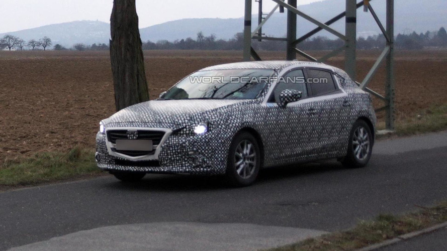 2014 Mazda3 spied for the first time
