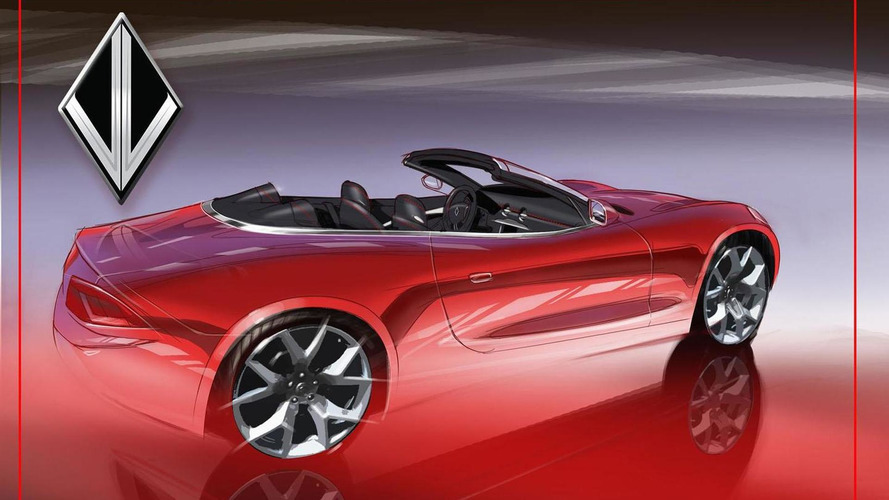 VL Automotive teases a Destino convertible concept for Detroit