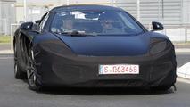 2014 McLaren 12C Spider facelift spied hiding minor front changes