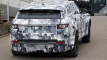 Jaguar crossover spy photo