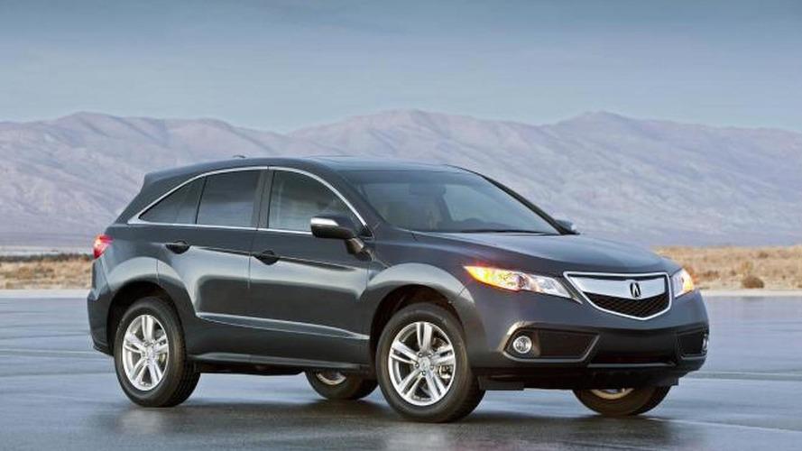 2013 Acura RDX pricing starts at $34,320