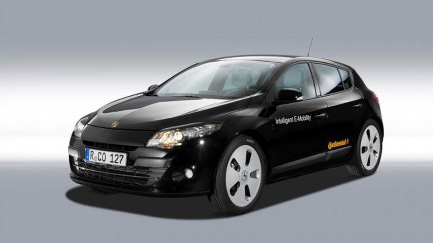 All-electric Renault Megane created by Continental