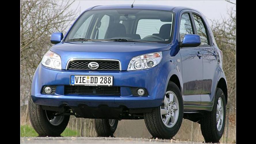 Trendy und preiswert: Der neue Daihatsu Terios 1.5 im Test