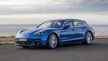 Porsche Panamera Sport Turismo 4S Diesel 2017