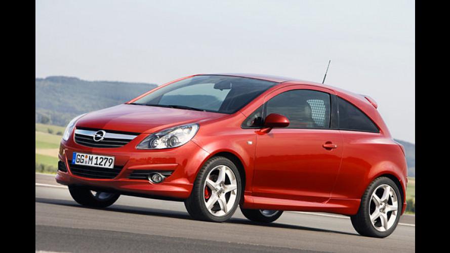 Postboten-Auto mit Spoiler: Opel CorsaVan Concept