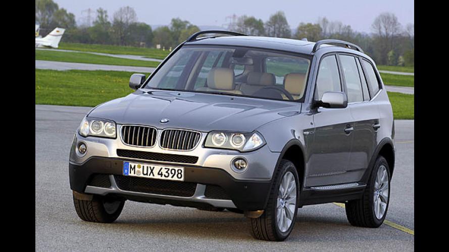 BMW X3: Softroader bekommt neue Optik und neue Motoren