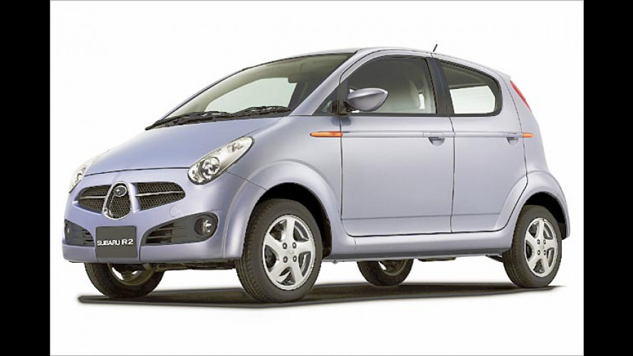 Subaru: Neuer R2 soll in Japan auf den Markt kommen