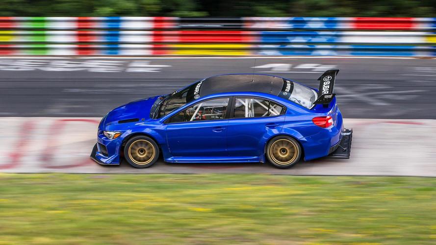 Subaru STI NBR Special'ın Nürburgring rekorunu izleyin