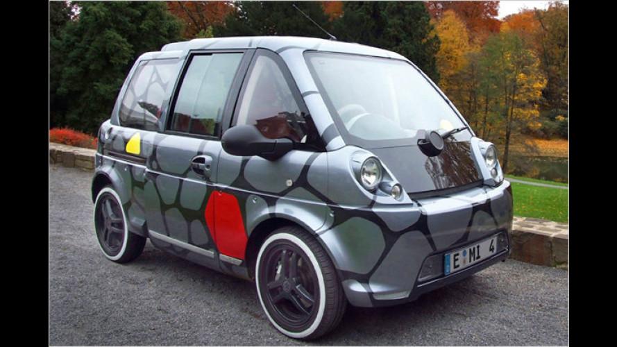 Mia zeigt in Genf drei elektrisch angetriebene Mikrobusse
