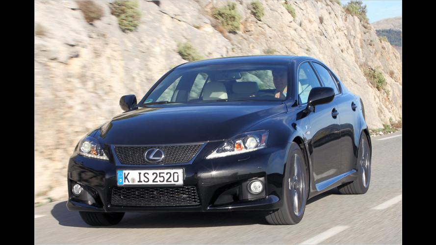 Verbessertes Fahrwerk für den Lexus IS-F