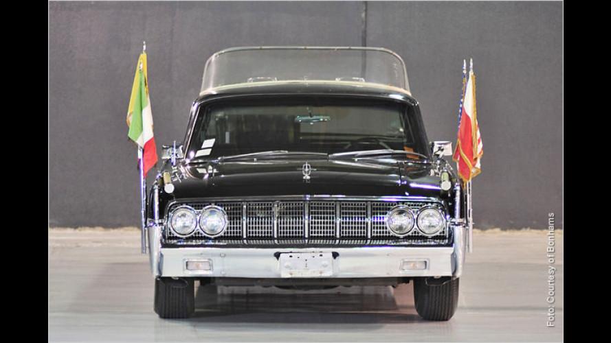 Papst- und Apollo-Limousine steht zur Versteigerung