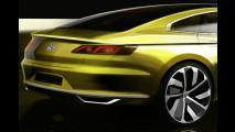 Volkswagen Sport Coupé Concept GTE, i primi bozzetti