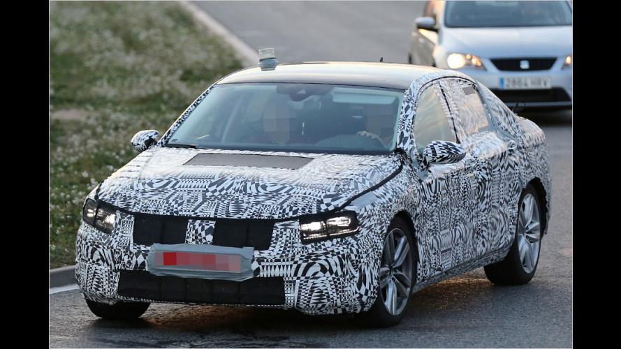 Erwischt: Neuer VW Passat
