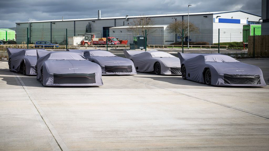 Aston Martin Vulcans Worth £9 Million Packed And Ready For Delivery
