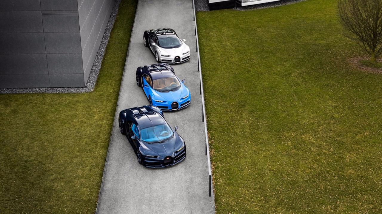 Livraison Bugatti Chiron