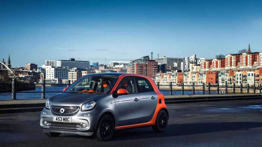 2017 Smart Forfour