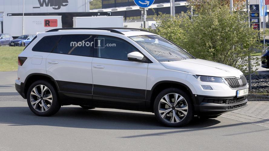 Škoda - Le nouveau Yeti/Karoq presque mis à nu