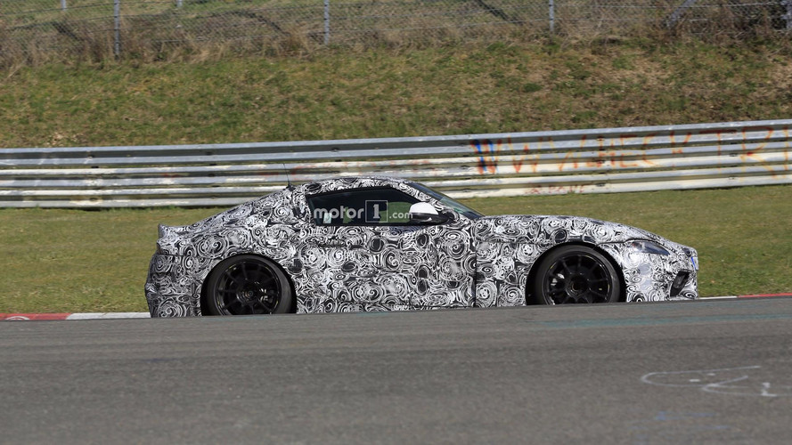 2018 Toyota Supra Spied On Nurburgring, Confirmed With BMW Auto