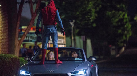 New Audi A8 To Swing By Spider-Man: Homecoming