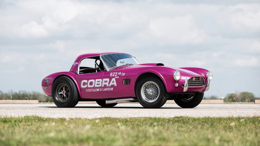 Une rare Shelby Cobra