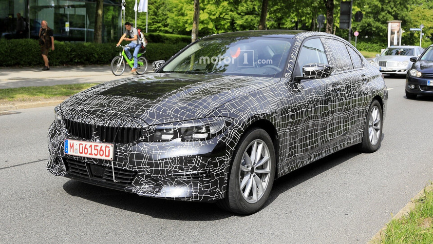 2019 BMW 3 Series Spotted With Less Camo Than Ever Before