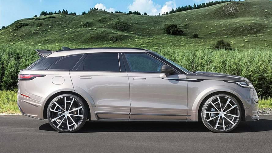 Mansory gives Range Rover Velar a carbon fibre makeover