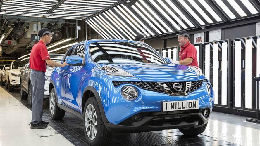 One Millionth Nissan Juke