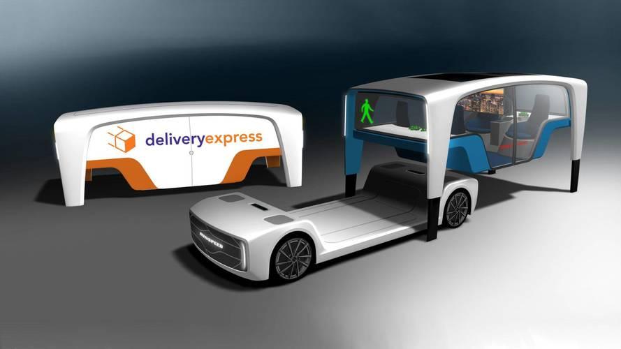 Rinspeed'in yeni mobilite konsepti farklı kabinler kullanabiliyor