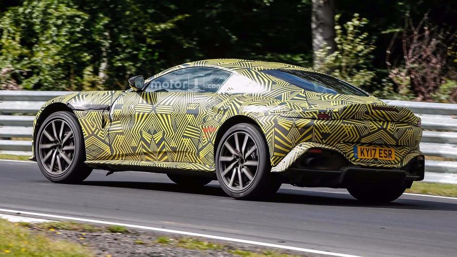 Aston Martin Vantage 2018, fotos espía