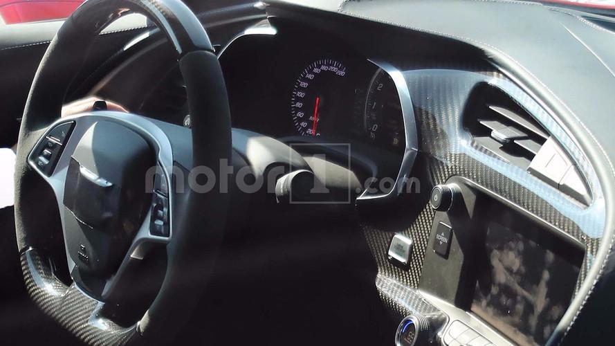 Chevrolet Corvette ZR1'in kabini görüntülendi!