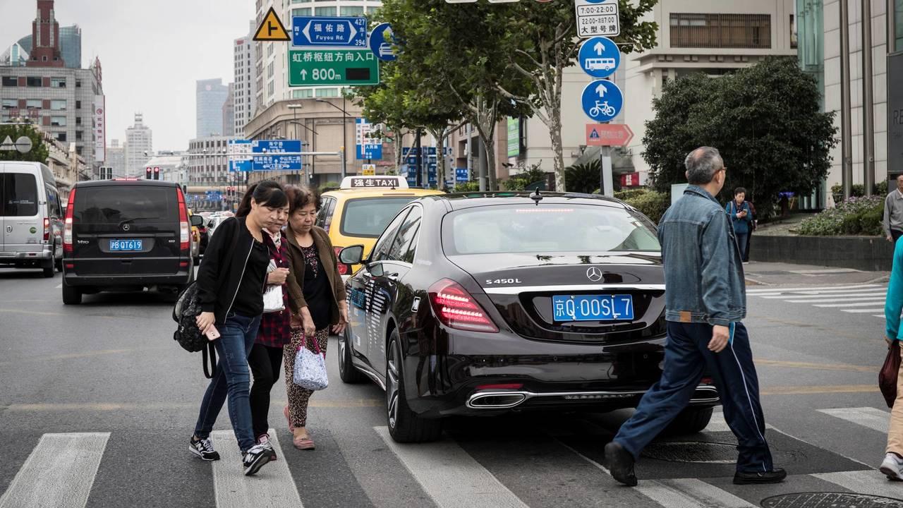 Mercedes Intelligent World Drive - Shanghai