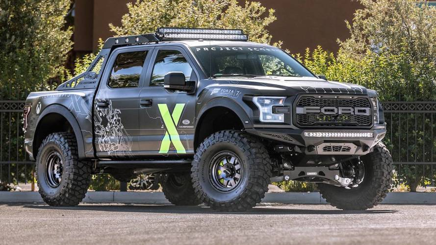 Ford F-150 Raptor Xbox One X Edition Was Made For Gamers
