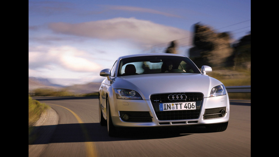Audi TT model year 2009