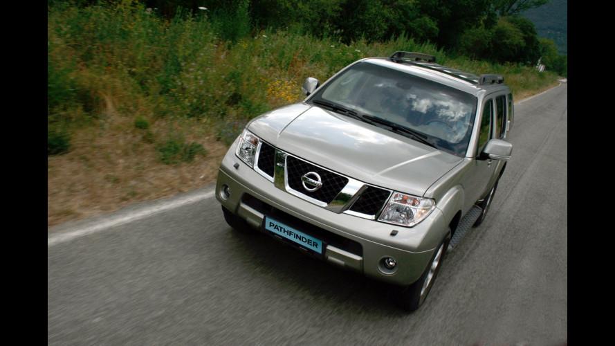 Nissan Navara e Pathfinder 2008
