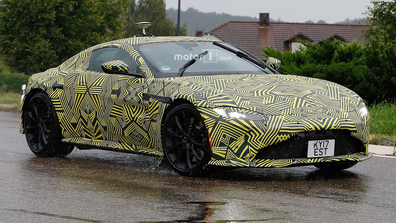 Aston Martin Vantage Spy Photos Make 007 Giddy With Excitement