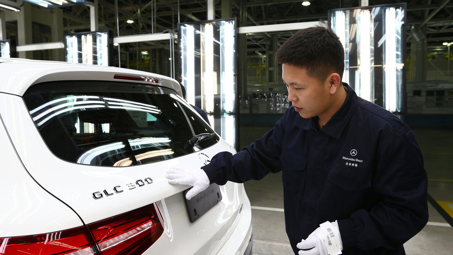 Mercedes starts assembling GLC in China