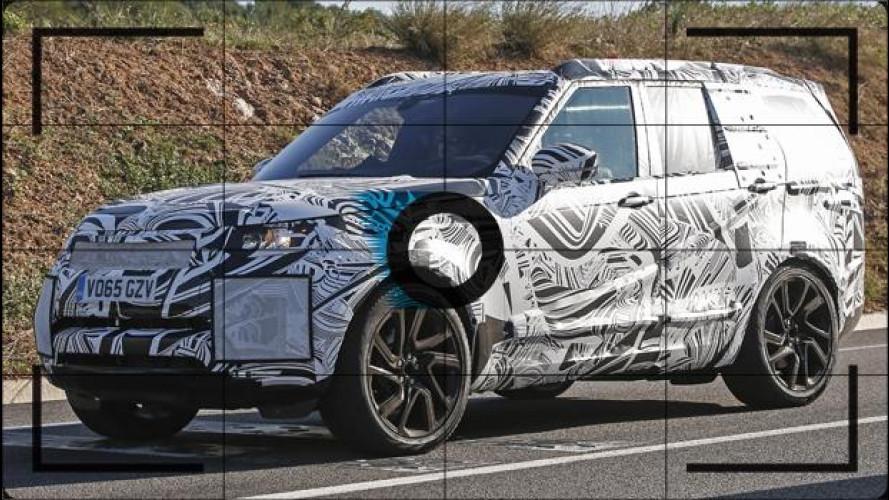Nuova Land Rover Discovery, prime foto spia
