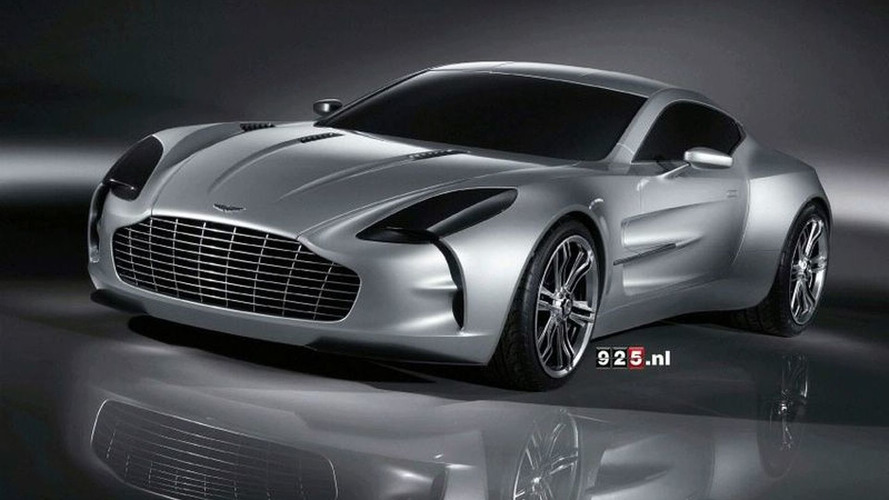 Yet More Details on Aston Martin one-77 Supercar Surface